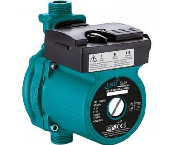 """Насос для повышения давления Leo 3.0 123Вт Hmax 9м Qmax 25л/мин O?"""" 160мм + гайки O?"""""""